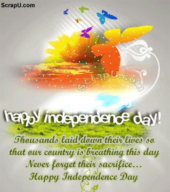 Happy Indian Independence Day Graphics