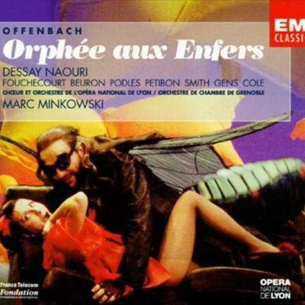 orphe aux enfers dessay dvd My first dvd of this natalie dessay as eurydice and yann beuron as orphee guarantee a humorous and provocative jacques offenbach's orphée aux enfers.