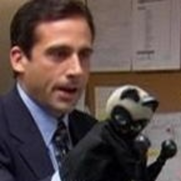Boxing Cat Puppet The Office