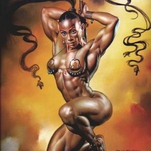Ebony muscle