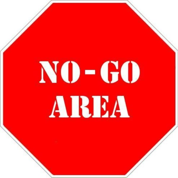 Image result for no go