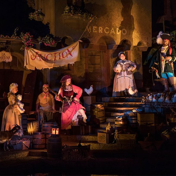 Disney World replaces Pirates of the Caribbean ride's controversial auction scene with female pirate