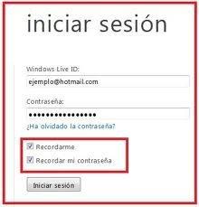 windows live hotmail iniciar sesion