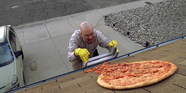 'Breaking Bad' and 'Better Call Saul' Creator Wants You to Stop Throwing Pizzas On Walter White's Roof, Okay?