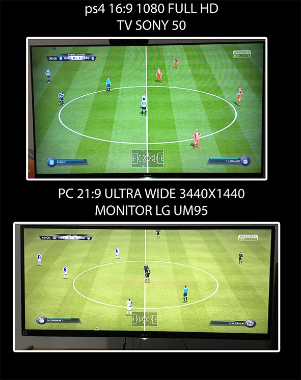 Fifa16 modo Ultra Wide  Full