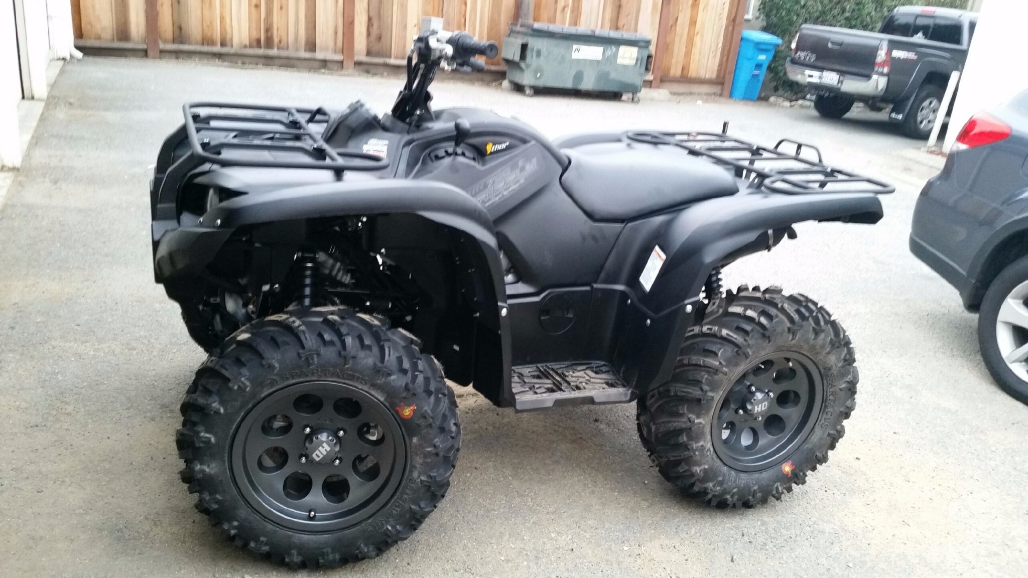 2013 700 5 2 Or 4 3 Offset Yamaha Grizzly Atv Forum