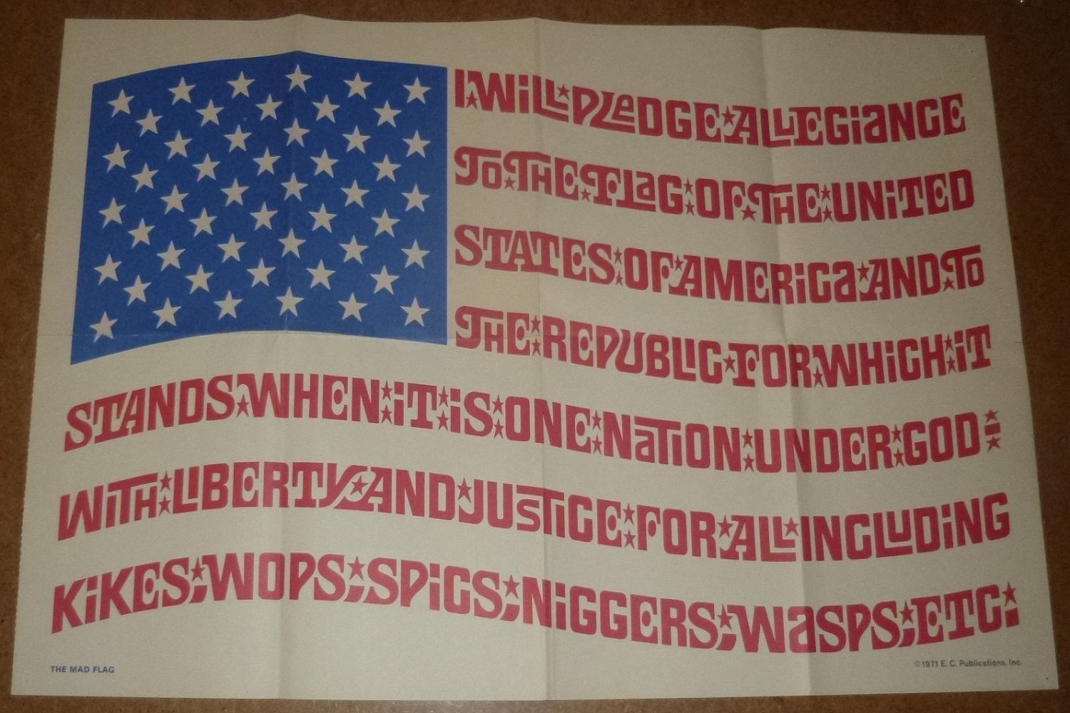 MAD Flag Poster