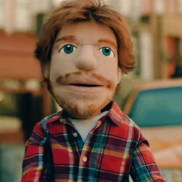 Ed Sheeran's Lookalike Puppet Is Back and Starring in the New Music Video for 'Happier'