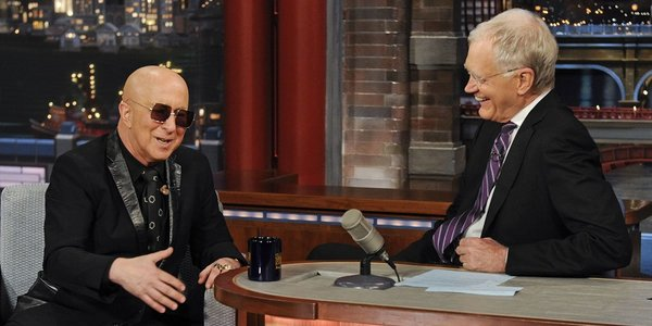 Image result for david letterman and paul shaffer
