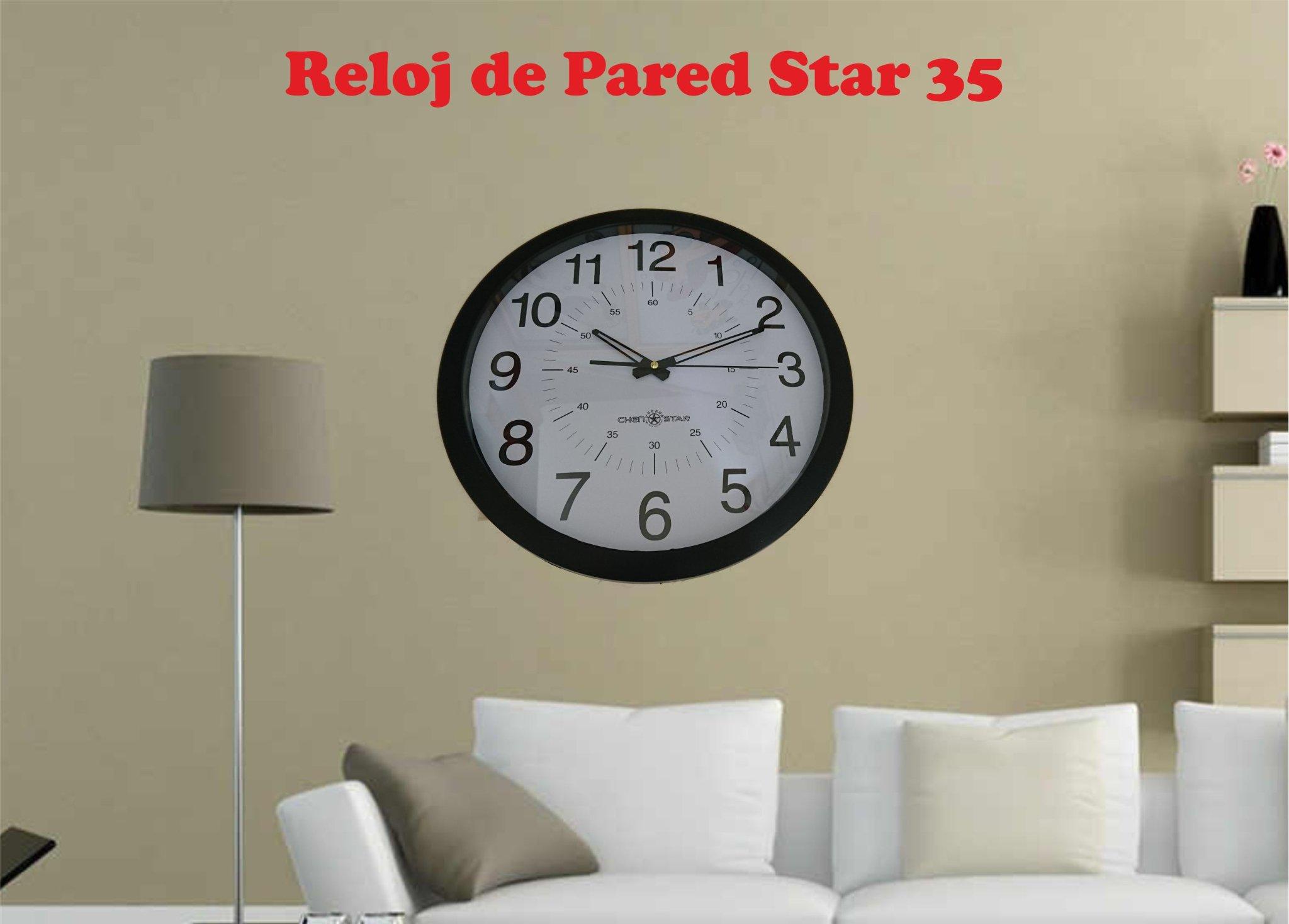 Reloj de pared analogo grande en mercado libre - Reloj grande de pared ...